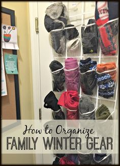 How to Organize Family Winter Gear from Busy Kids Happy Mom