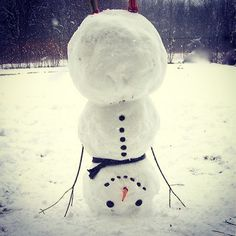 Snowman headstands.  This will definitely be my snowman when we get snow.  Namaste