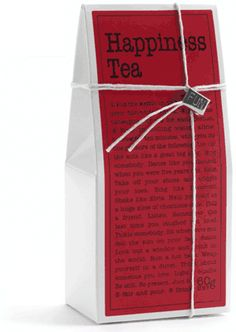 Happiness Tea, other teas to try...