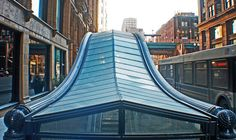 State Street Subway Entrance Chicago by garyegarye, via Flickr