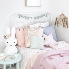 Pastel Girls bedroom
