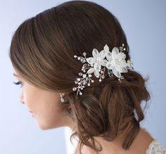 Peine de lado boda peine peine del pelo nupcial accesorio