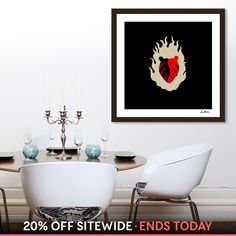 Discover «Light my Heart», Limited Edition Fine Art Print by IndianaStudio - From 35€ - Curioos