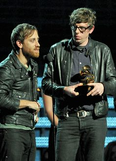 The Black Keys (Dan Auerbach and Patrick Carney) at the 2013 Grammys