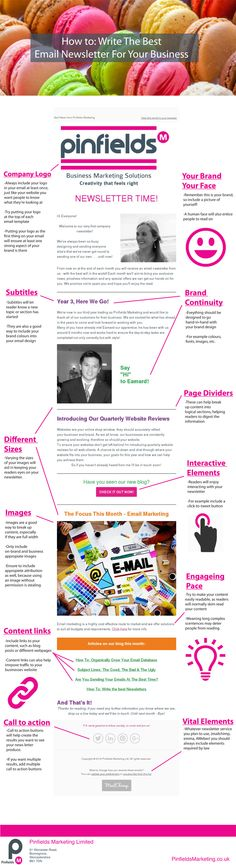 Email Marketing - How to write the best email newsletter | Pinfields Marketing