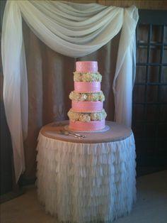 Vintage country - Wedding cake