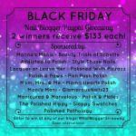Black Friday Nail Blogger Giveaway!