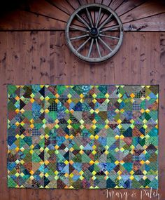 Maryandpatch, Blue Ducks Quilt pattern, one more seam, a second quilt!