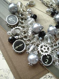 Typewriter Key Jewelry Typewriter Keys by PreciousPastimes on Etsy, $142.50