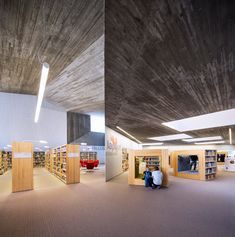Cavernous copper-clad library designed for Alvar Aalto's historic civic centre.