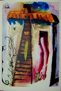 Alice in Wonderland -- Salvador Dali