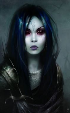 Fantasy / Dark Fantasy art by Benita Winckler Dark Fantasy Art, Fantasy Girl, Chica Fantasy, Fantasy Kunst, Fantasy Women, Fantasy Artwork, Fantasy Rpg, Gothic Art, Gothic Beauty