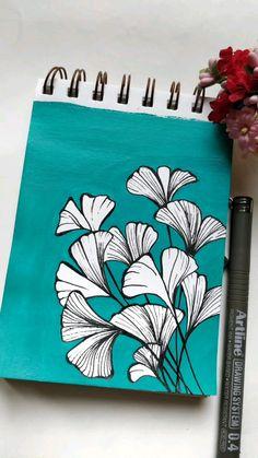 Simple Canvas Paintings, Acrylic Paintings, Watercolor Paintings, Gouache Painting, Painting & Drawing, Watercolor Cards, Watercolour, Mandala Sketch, Avengers Drawings