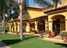 Andalusian style villa with pool, Málaga, Spain