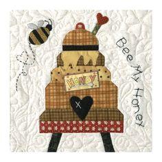 BOM en Kits :: Blok van de maand :: Honey Bee Lane - Rinske Stevens Design
