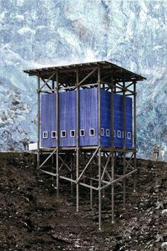 mining museum + café. Peter Zumthor