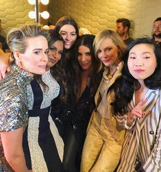 "Sandra Bullock and 'Ocean's movie cast attend CinemaCon. Sandra Bullock and the ""Ocean's cast attended CinemaCon together on Tuesday. Sandro, Ocean's 8 Cast, Ocean 8 Movie, Divas, Ocean's Eight, Oceans 8, Middle Aged Women, Hollywood, It Movie Cast"