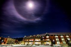 Interesting one by schruppie222 #astrophotography #contratahotel (o) http://ift.tt/24lT4hW halo around the moon last night on the #uwec campus! #moon #ringaroundmoon #halo #mostbeautifulcampus #eauclaire #captureEC #exploreEC #lunar #davies #space #stars #college  #longexposure #love #beautiful  #nikon #nikond610