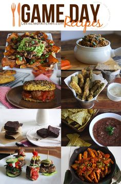 Healthy Game Day Recipes from Lexi's Clean Kitchen (gluten-free, dairy-free, paleo)