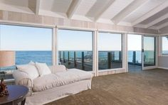 The entire second floor commands breathtaking views of the Pacific Ocean.See more:- Floor-to-ceiling windows- Rooftop decks