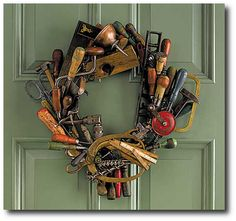 Tool Wreath -The Beauty of Tools