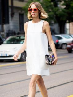 5 New Ways to Wear Your Shift Dress in 2017 via @WhoWhatWear