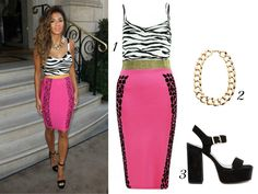 Your Guide To Dressing Like Nicole Scherzinger On A Budget
