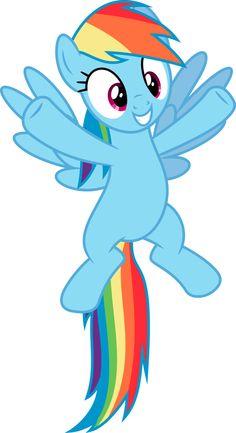 Rainbow Dash 3 by Skie-Vinyl Rarity Pony, Fluttershy, Raimbow Dash, My Little Pony Birthday Party, Little Poni, My Lil Pony, My Little Pony Friendship, Rainbow Unicorn, Over The Rainbow