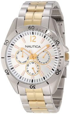 Nautica Men's N14638G NAC 101 Classic Analog Watch * For more information, visit image link.