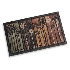 Tall Tree Scape 18-Inch x 30-Inch Doormat $15