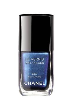 BEST SUMMER NAILS | PERFECT PEDICURE: CHANEL BLUE - Mermaid shades of greens, turquoises and blues have been big for summer 2013 so far and nowhere more so than on toes.