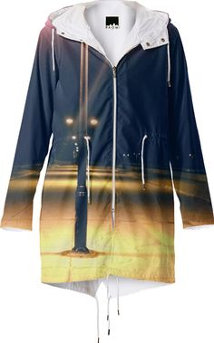 Raincoat, White Street Pier at night, Key West, Florida from Print All Over Me