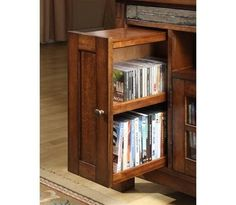 Pullout DVD Storage