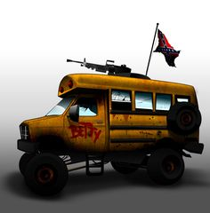 Betty the post apocalyptic survival vehicle by OmarCo.deviantart.com on @DeviantArt