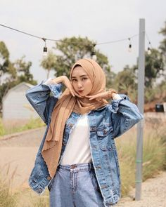 Casual Hijab Outfit, Ootd Hijab, Hijab Chic, Modest Fashion, Hijab Fashion, Women's Fashion, Fashion Outfits, Modest Wear, Mix N Match