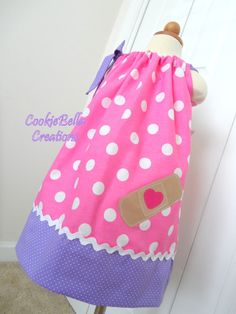 Doc McStuffins inspirado Vestido de funda por CookieBellaCreations