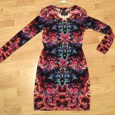 Electric Long Sleeve Dress