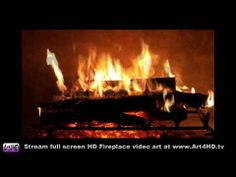 Want a yule treat, get a 60 minute HD Fireplace screensaver Art4HD 1080 video TV art, and sit back & enjoy without having to do anything but turn on the TV