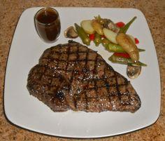 Chef JD's Classic Cuisine: USDA Prime Grade Top Sirloin Steak with Tamarind B...
