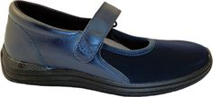 Women's Drew Magnolia - Navy Nappa/Stretch with FREE Shipping & Exchanges. The Magnolia features the Plus Fitting System ®- two removable footbeds for added and double