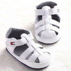 0eb49626b4e Zomer Baby Schoenen Sole Baby Jongens Schoenen PU Leer Pasgeboren Jongens  Schoenen Babyschoenen 0-18