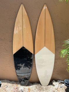 Wooden Surfboard, Surfboard Art, Skateboard Art, Surfboard Painting, Surfboard Shapes, Skateboard Design, Hawaiian Decor, Hawaiian Art, Art Vampire