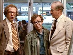 """McLuhan with Woody Allen in """"Annie Hall"""" MARSHALL McLUHAN: You know nothing of my work. How you ever got to teach a course on anything is totally amazing. WOODY ALLEN: Boy, if life were only like this. Annie Hall, Woody Allen, Academy Awards Best Picture, Breaking The 4th Wall, Marshall Mcluhan, Michael Murphy, Best Screenplay, Sub Mariner, Diane Keaton"""