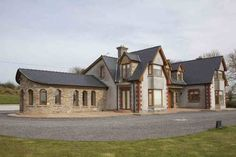 front-elevation Front Elevation, New Builds, House Design, Mansions, House Styles, Building, Home Decor, Decoration Home, Manor Houses