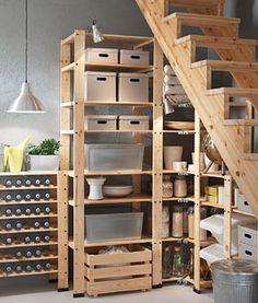 Ikea gorm  Ikea 'Ivar' shelf @lililou04 via @ikeafrance | ◊ Küche ...