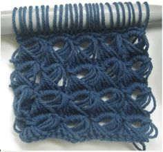 MyJCLibrary KnitCrochet: Heading into Winter broomstick lace
