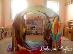 Vivian's Play Area by wholesomeplaytime, via Flickr