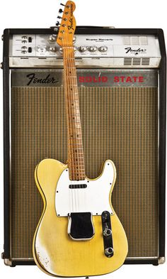 1968 Fender Telecaster Custom and 1967 Fender Solid State Super Reverb