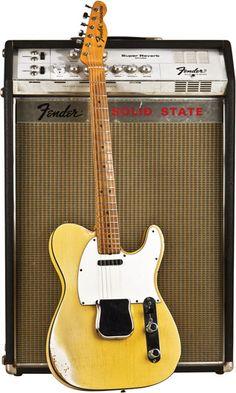 1968 Fender Telecaster Custom and 1967 Fender Solid State Super Reverb
