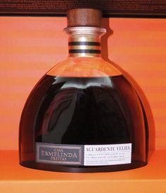 An exceptional Aguardente Velha (Brandy), Aged for Over 30 Years in Oak Barrels.